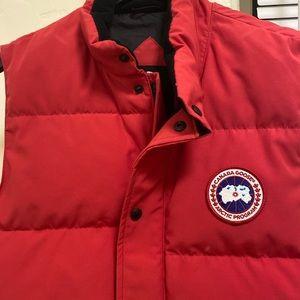 -Canada goose freestyle vest